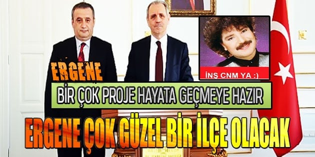 Enver Salihoğlu 'Ergene çok güzel bir ilçe olacak'