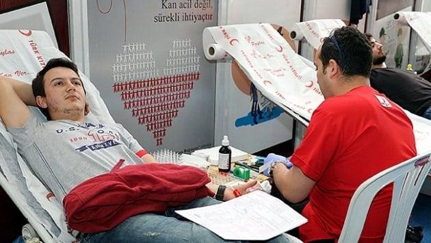 Kızılay günlük 12 bin ünite kan toplayacak