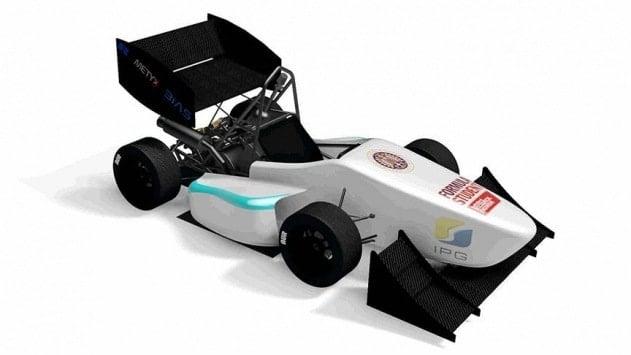 Öğrenciler Formula 1 aracı tasarladı