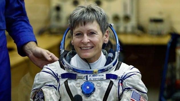 En yaşlı kadın astronot uzayda