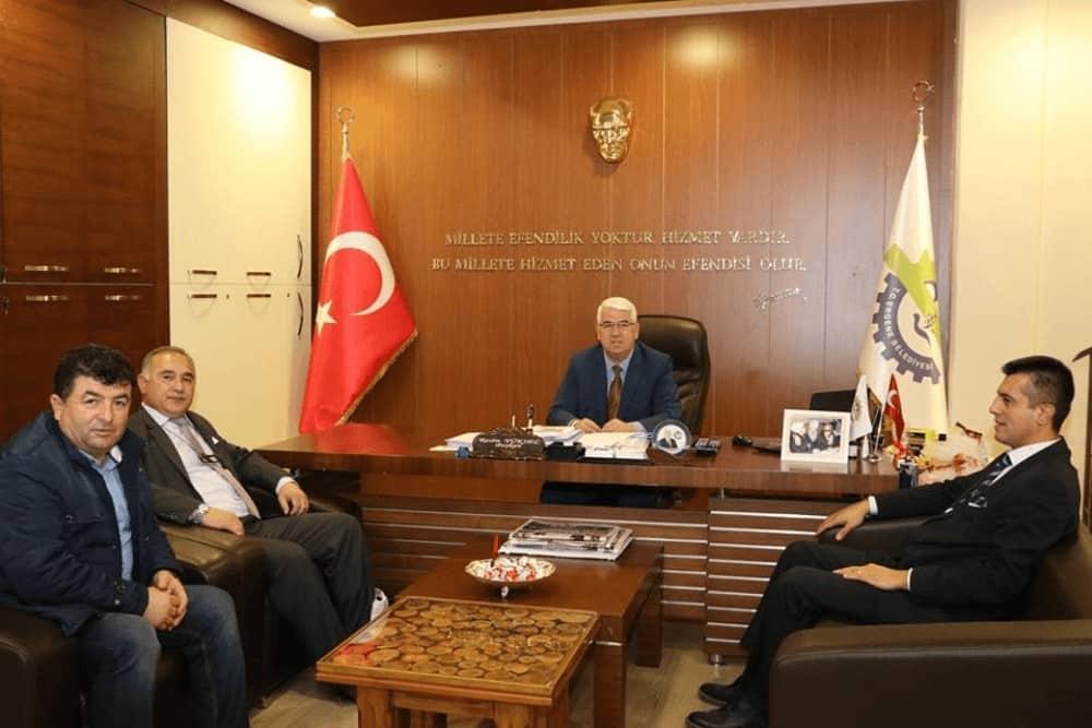 Belediye Başkanı Resim Yüksel'e Giresunlular Derneği Ziyaretti