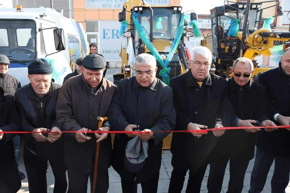 Ergene Belediyesi 4 yeni aracı filosuna ekledi