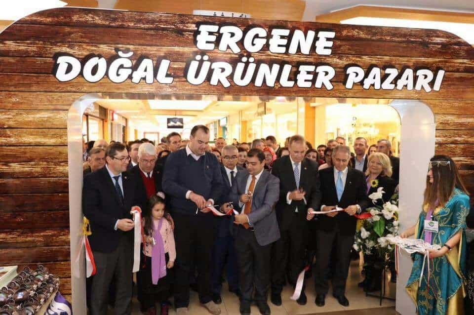 Ergene Doğal Ürünler pazarı' orion da açıldı.