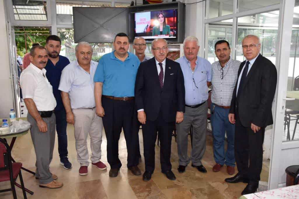 Başkan Kadir Albayrak Halk Buluşmalarına Çerkezköy İlçesi İle Devam Ediyor