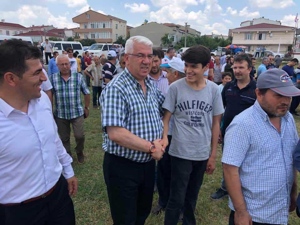 Ergene Belediye Başkanı Rasim Yüksel Derneklerin Etkinliklerine Katıldı