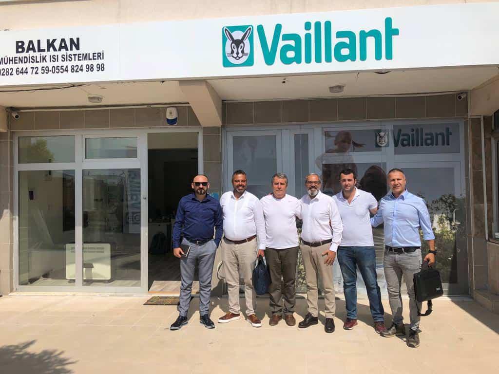 Vaillant motivasyon ziyaretlerine Tekirdağ ile devam etti
