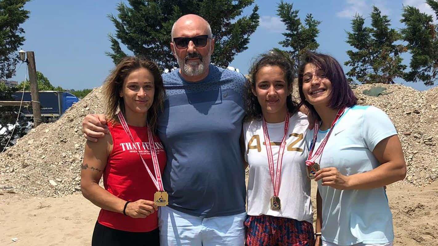 Güreşçimiz Esma Akkaya Türkiye Şampiyonu Oldu