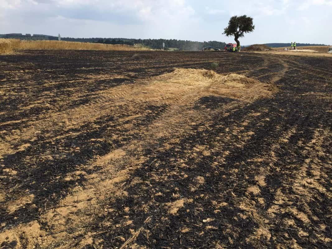 İtfaiye Bölgedeki Yangınlara En Kısa Sürede Müdahale Ediyor