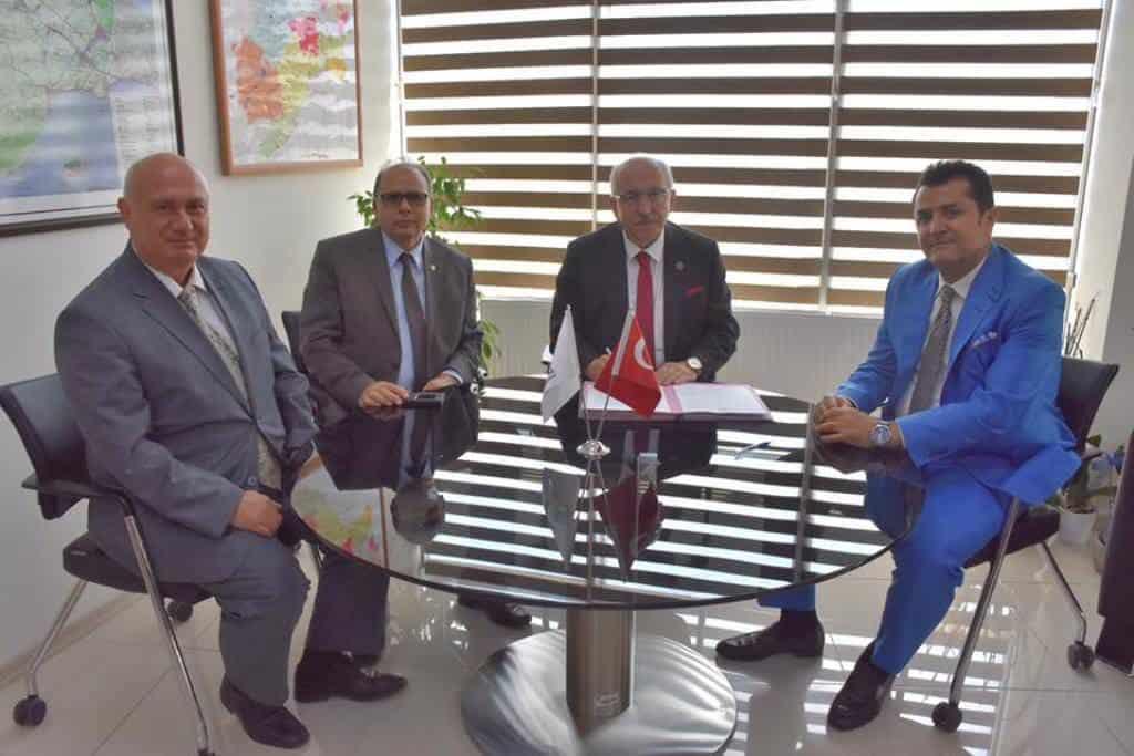 Tekirdağ Büyükşehir Belediyesi Yeni Hizmet Binası Yapım Sözleşmesi İmzalandı