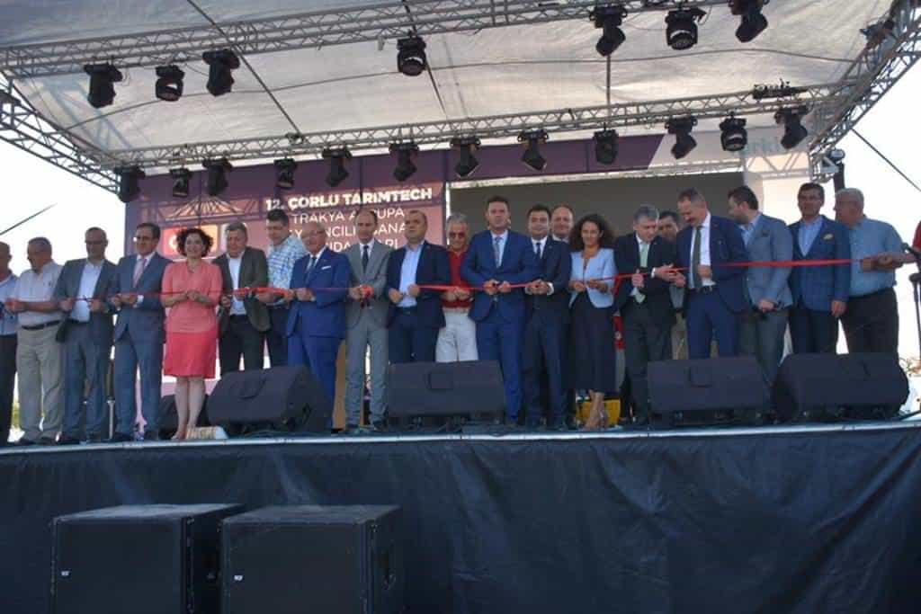 2. Çorlu Alışveriş Fuarı Törenle Açıldı