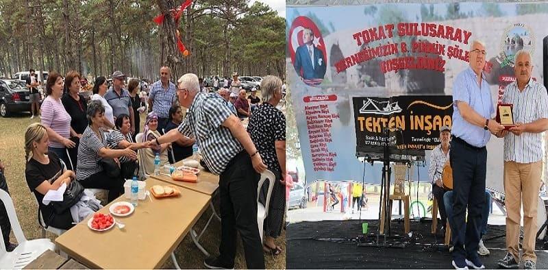 Ergene Belediye Başkanı Rasim Yüksel Ergene'deki Derneklerin Piknik Etkinliklerine Katıldı