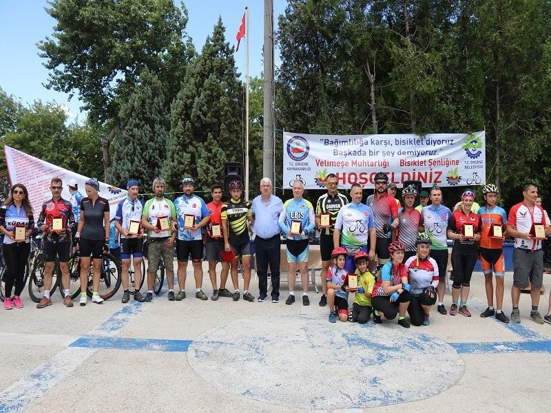 Ergene'de 6. Bisiklet Şenliği Düzenlendi