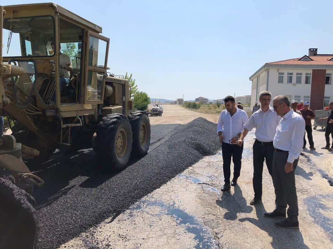Keşan Belediyesi Asfalt Çalışmalarına Devam Ediyor