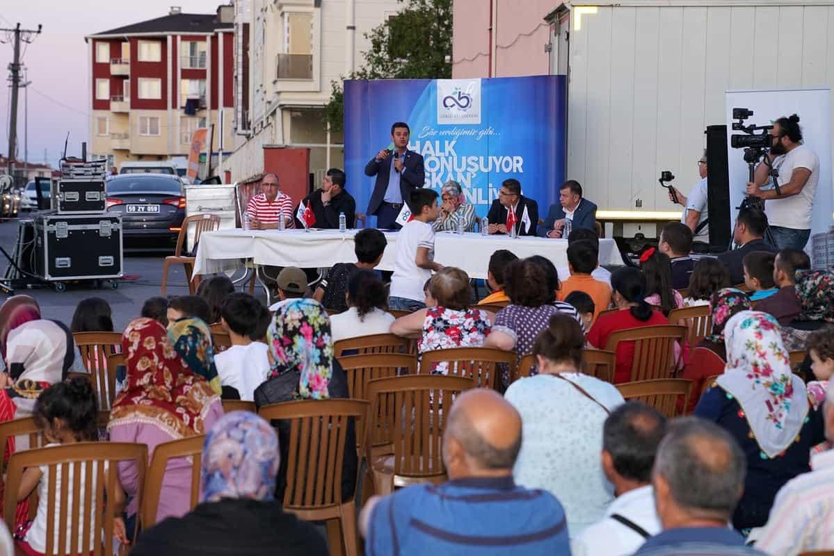 Başkan Sarıkurt Nusratiye Mahallesi Sakinleriyle Buluştu