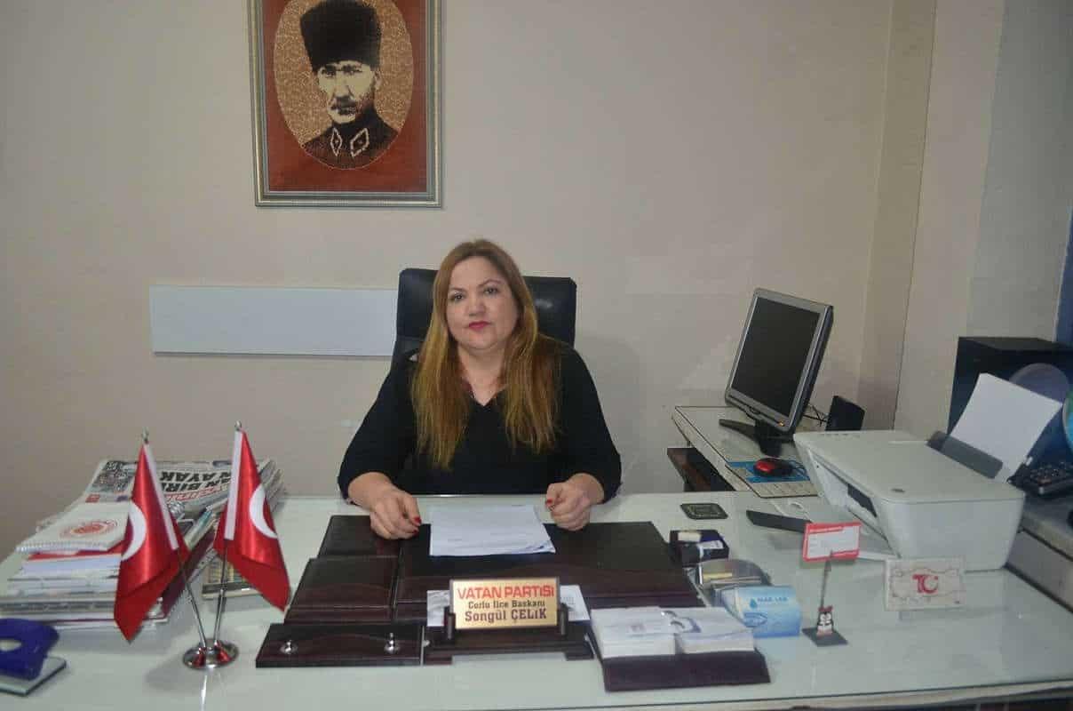 Türk kadını kafese giremez
