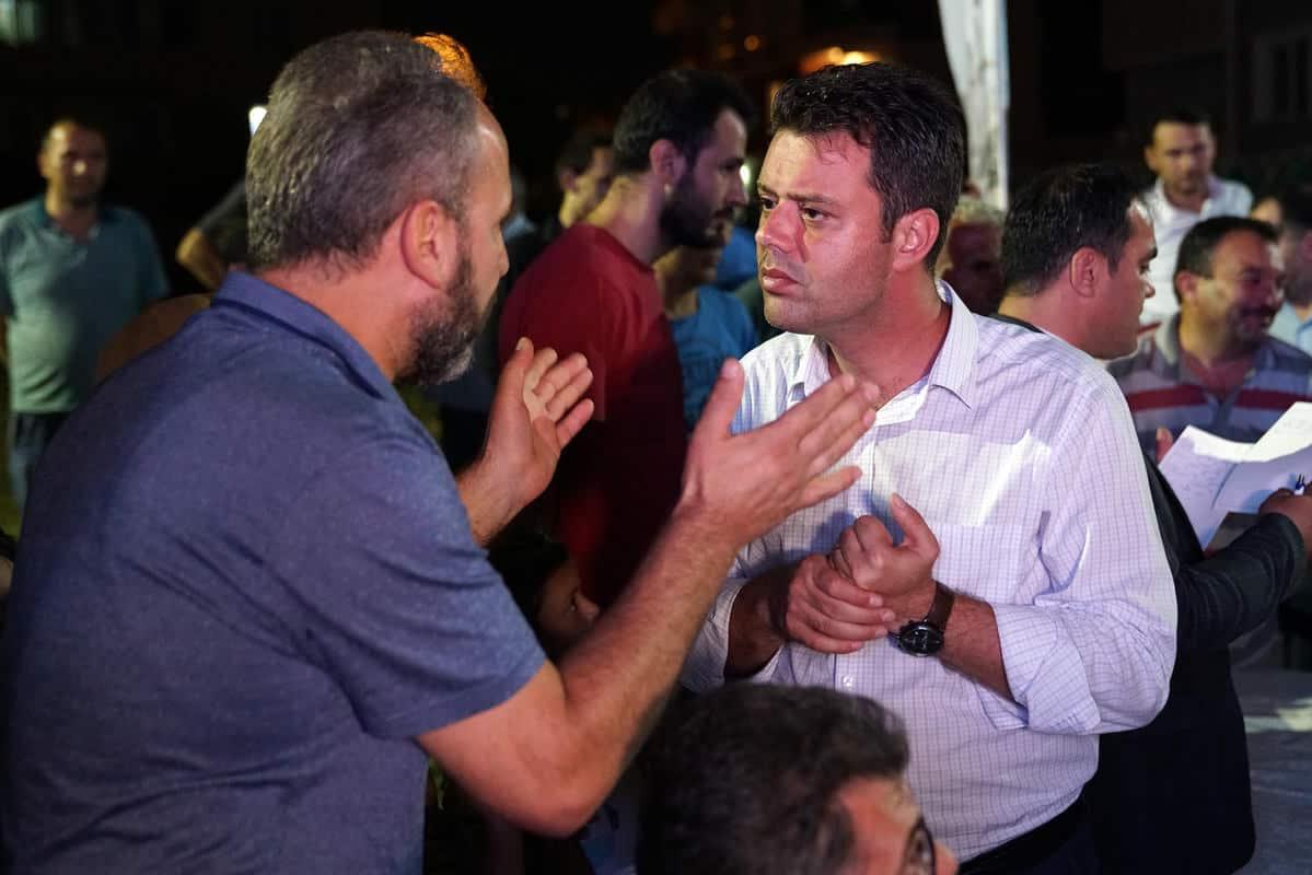Başkan Sarıkurt Kemalettin Mahallesi Sakinleriyle Buluştu