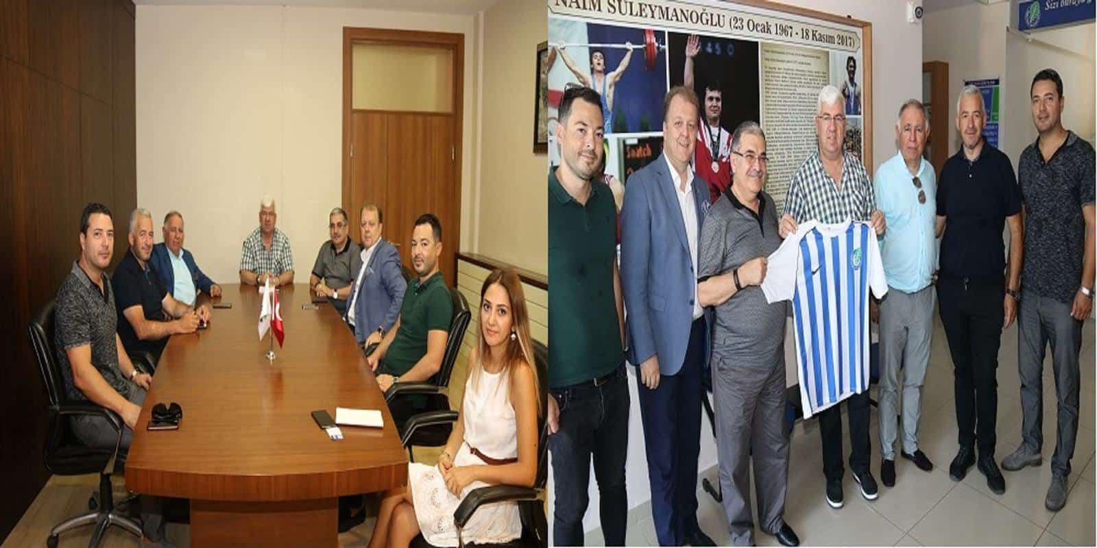 ÇİSAD Ergene Belediye Başkanı Rasim Yüksel'i Makamında Ziyaret Etti