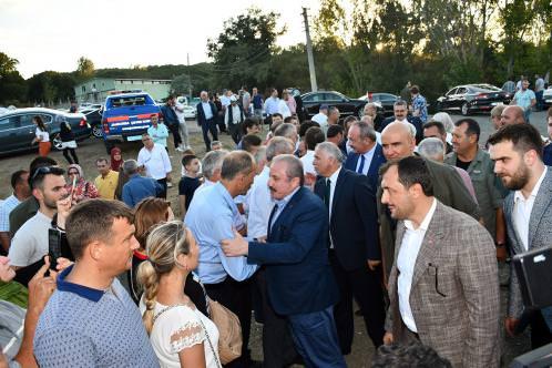 TBMM Başkanımız Sayın Prof. Dr. Mustafa Şentop Keşkek Şenliğine Katıldı