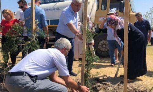 Başkanımız Rasim Yüksel Ağaç Dikme Etkinliğine Katıldı