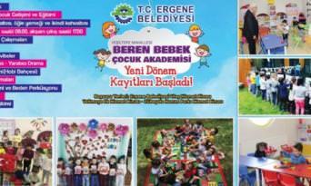 Beren Bebek Çocuk Akademisinde Yeni Dönem Kayıtları Başladı