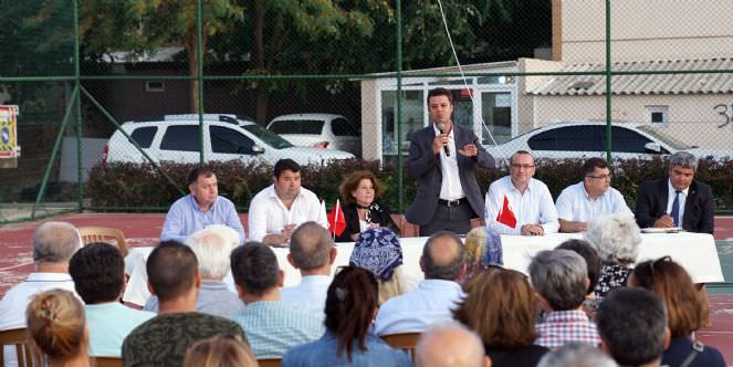 Başkan Sarıkurt Kazımiye Mahallesi Sakinleriyle Buluştu