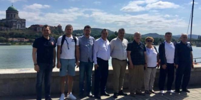 Başkan Kadir Albayrak'tan Estergon Kalesi'ne Ziyaret