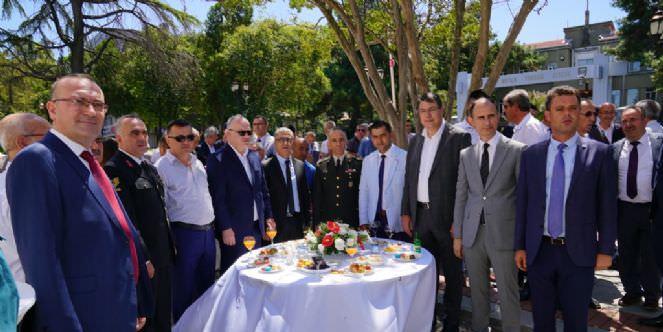 Kurban Bayramı Bayramlaşma Töreni Düzenlendi