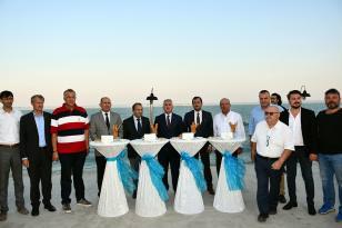 Vali Aziz Yıldırım Yelken Yarışları Açılışına Katıldı
