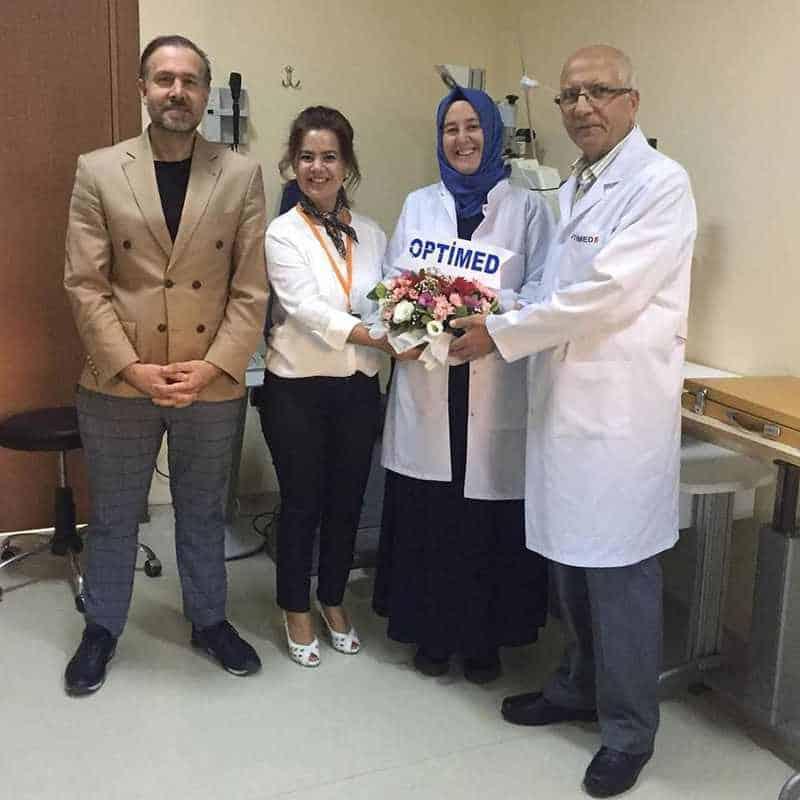 Op. Dr. Yasemin Baydar Özel Optimed Çorlu Cerrahi Tıp Merkezinde Hasta Kabulüne Başladı!