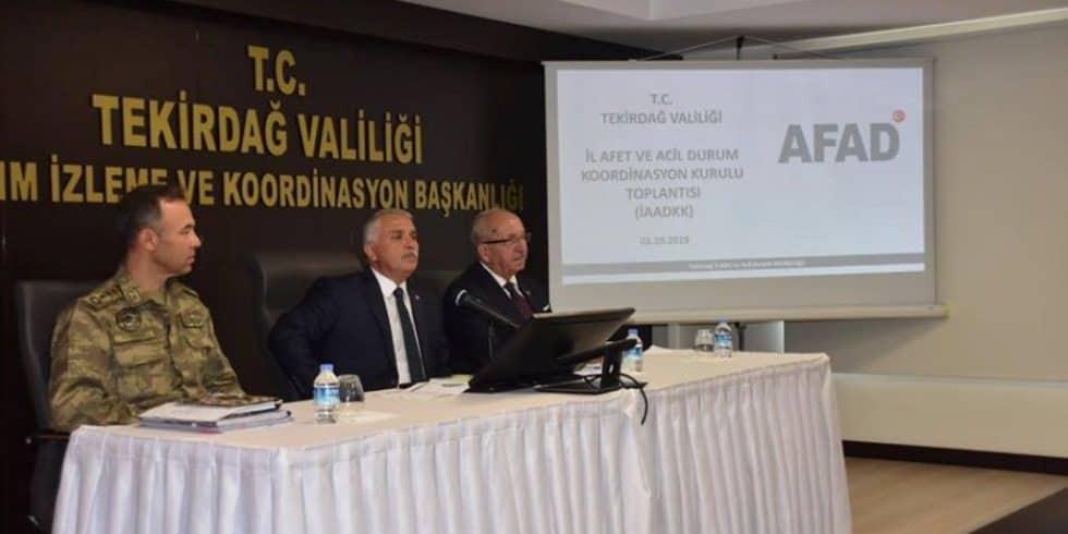 Başkan Albayrak İl Afet ve Acil Durum Koordinasyon Kurulu Toplantısına Katıldı