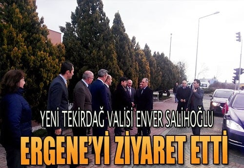 Enver Salihoğlu Ergene'de